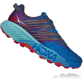 Hoka One One Speedgoat 4 Shoes Women, imperial blue/pink peacock